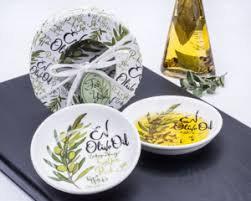 EV Olive Oil Dipping Bowls