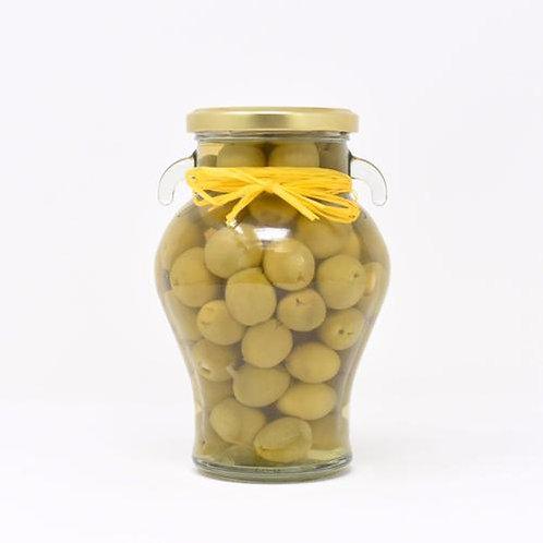Spanish Manzanilla Olives Stuffed with Lemon
