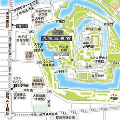七彩工房の自主制作作品「大阪城西の丸庭園 大阪迎賓館」