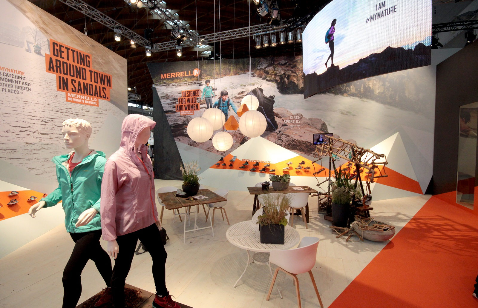 Merrell Messestand Outdoor 2016