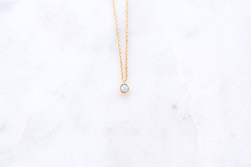 Mini Opal Necklace
