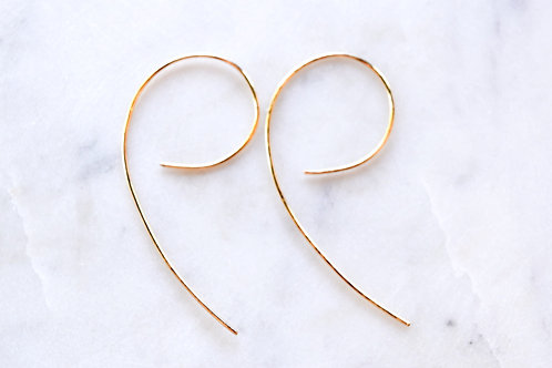 9 Shaped Earrings