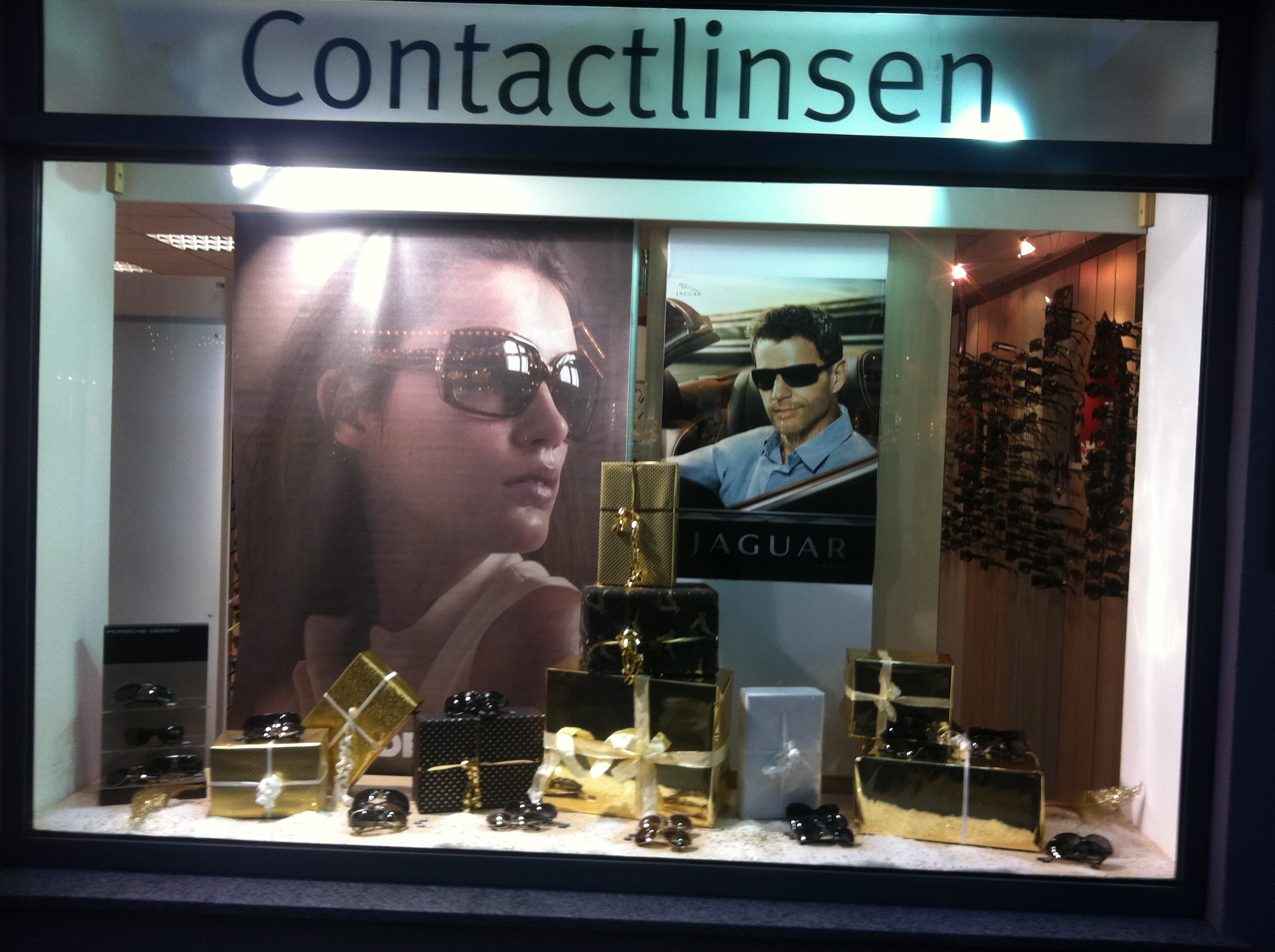 Optiker Schaufenster