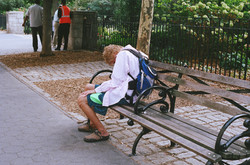 A Bench, NYC