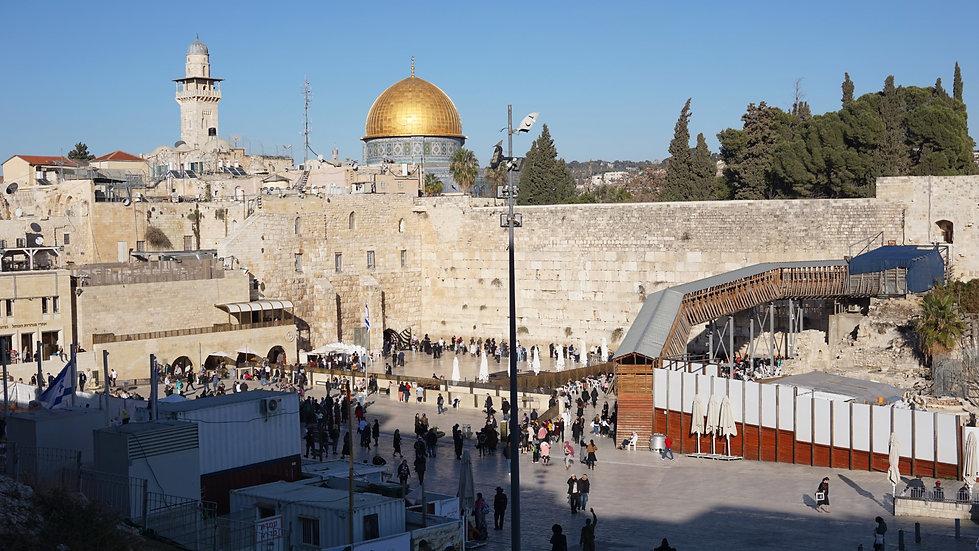 Jerusalem Temple Mount and Kotel - Waili