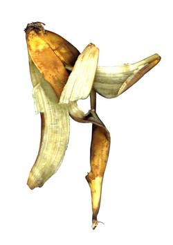 Flying banana peel