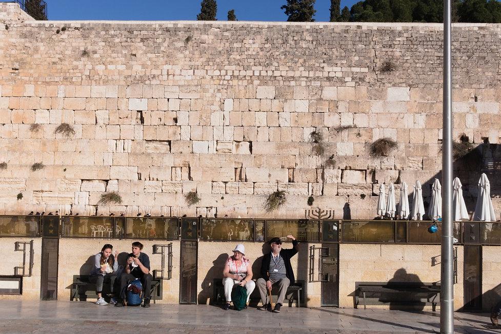 By the Western Wall, Jerusalem