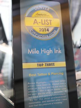 2014 Top Three
