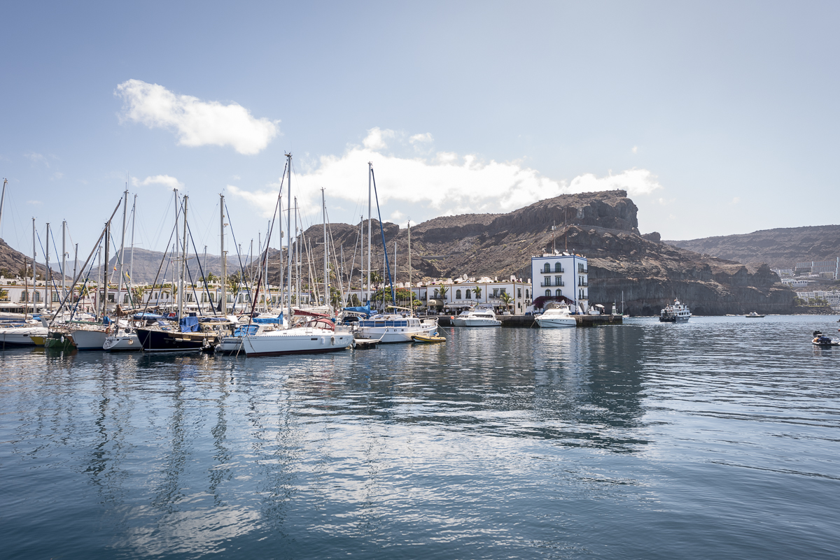 luxury sailing canary island