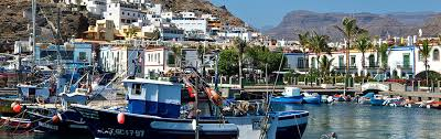Puerto de Mogan luxury sailing canary island