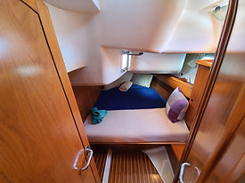 sailing canary aft cabin accomodation luxury, VIP sailing canari Islands, family holiday