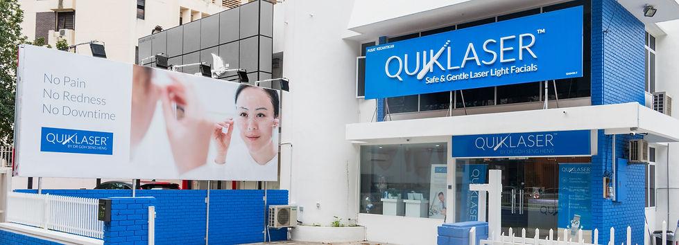 Quiklasr Kelawai Outletstr front