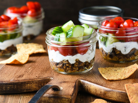 Layered Greek Lamb Dip