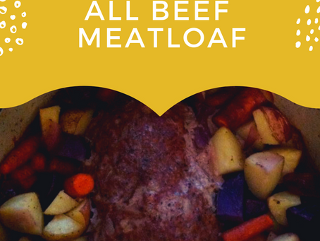 All Beef Meatloaf