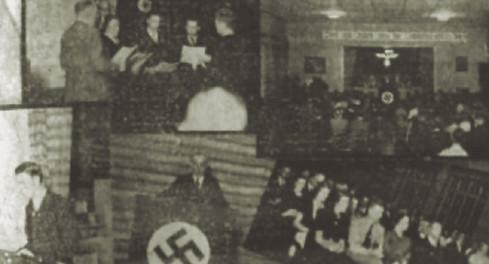 """Abb. 5: Nationalsozialistische Aktivitäten im Deutschen Club in """"La Tribuna"""" vom 30.11.1937"""