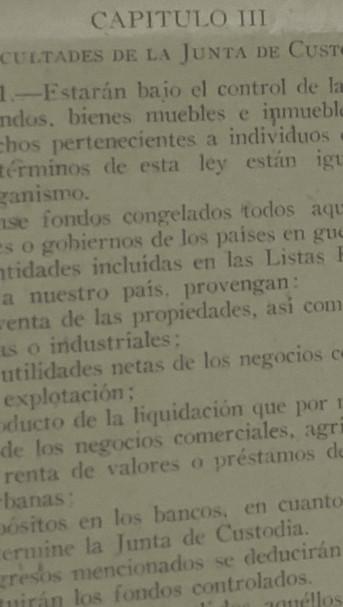 Fig. 14: Muestra del Decreto No.26