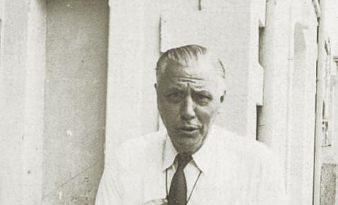 Abb. 6: Schulleiter Hannes Ihrig im Jahr 1960