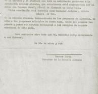 Abb. 4c: Antwortschreiben von Hannes Ihrig an den Schulinspektor vom 21.6.1940