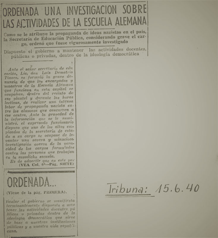 "Fig. 2:,,La Tribuna"" del 15.6.1940"