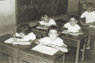 Abb. 11: Schülerinnern und Schüler der Präparatoria A im Jahr 1960