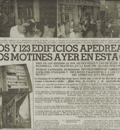 """Abb. 11: Zeitungsartikel über die Aufstände vom 4. Juli 1942 im """"Diario de Costa Rica"""" vom 5.7.1942"""