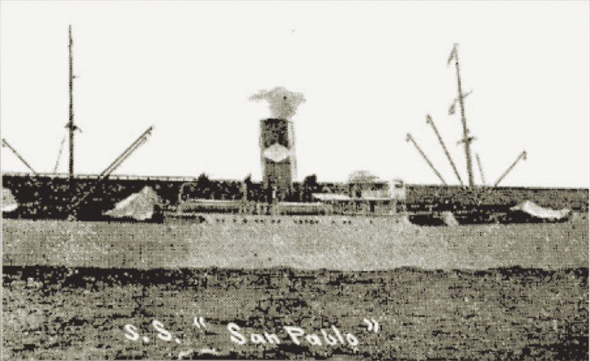 """Fig. 7: El ,,SS San Pablo"""""""