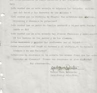 Abb. 3b: Schreiben des Schulinspektors Barrantes vom 14.6.1940