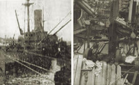 """Abb. 8: Die """"SS San Pablo"""" im Hafen von Limón"""
