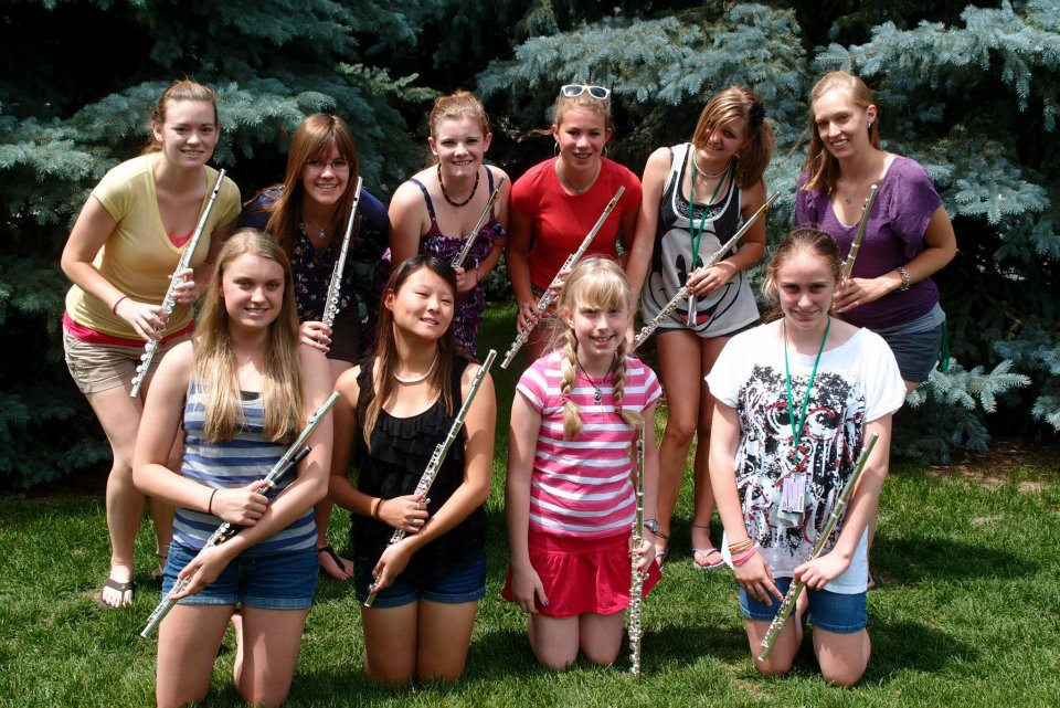 Colorado Honor Band Flute Section
