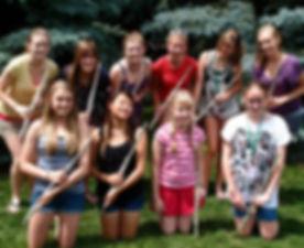 Beginning flute group class