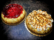 Savannah Bakery's cheesecakes come in a variety of flavors including New York, white chocolate, and, even, Butterfinger.