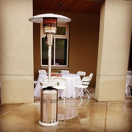 Umbrella heaters for this weather!.jpg