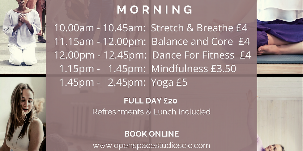 FRIDAY WELLBEING MORNINGS  (2)