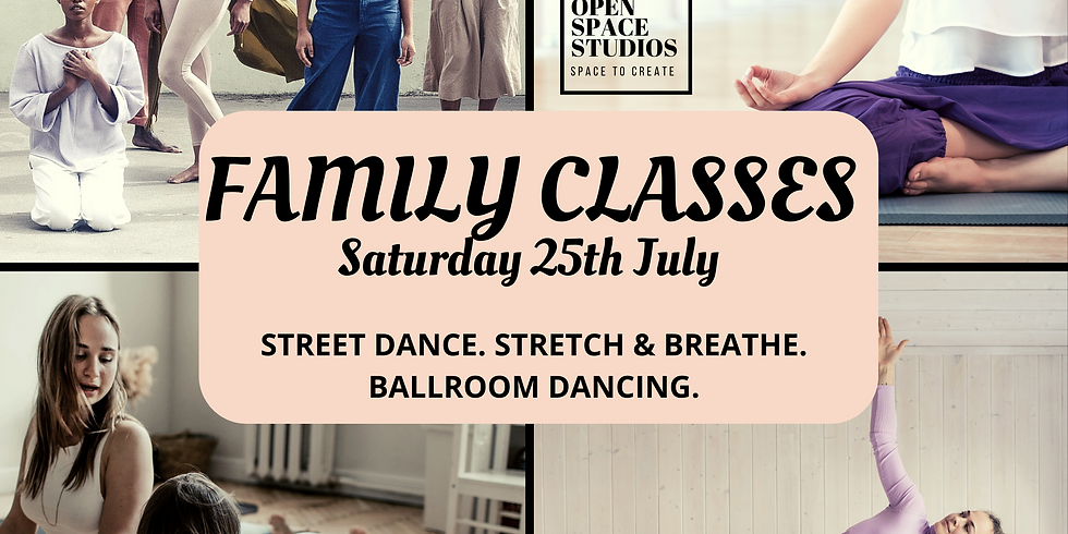 FAMILY OPEN DAY CLASSES