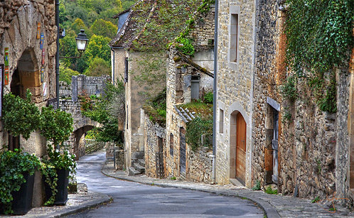 Streets of Rocamadour (Sml Canvas)