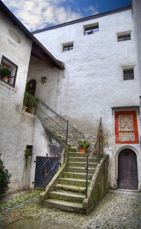 Austrian Stairs (Med Canvas)