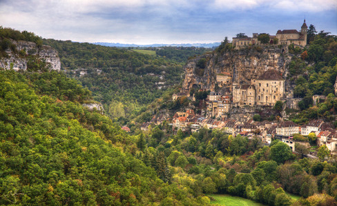 Valley View of Rocamadour