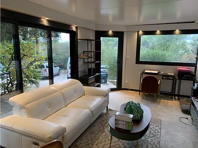 extension maison toit plat cottage system