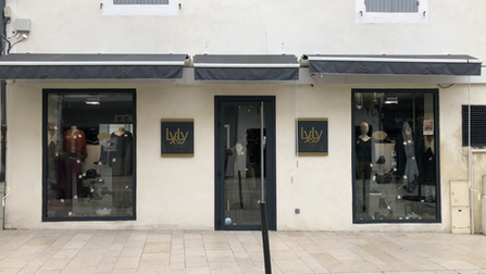 vitrine aluminium boutique lyly