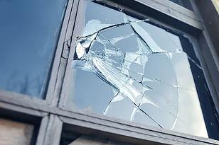 réparation vitre cassée