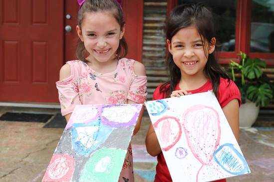 Friendships are created while making art