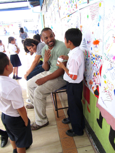 Marck and friends having fun with drawchange Costa Rica
