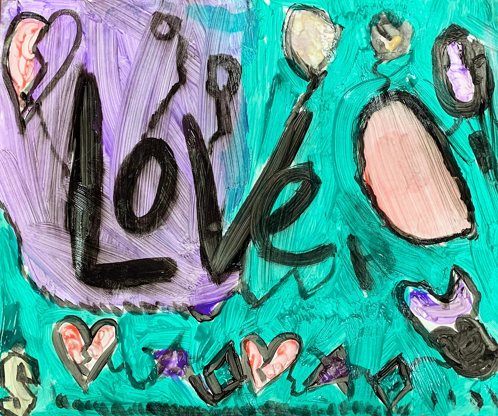 Love child's painting