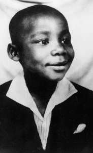Martin Luther King Jr as a child.