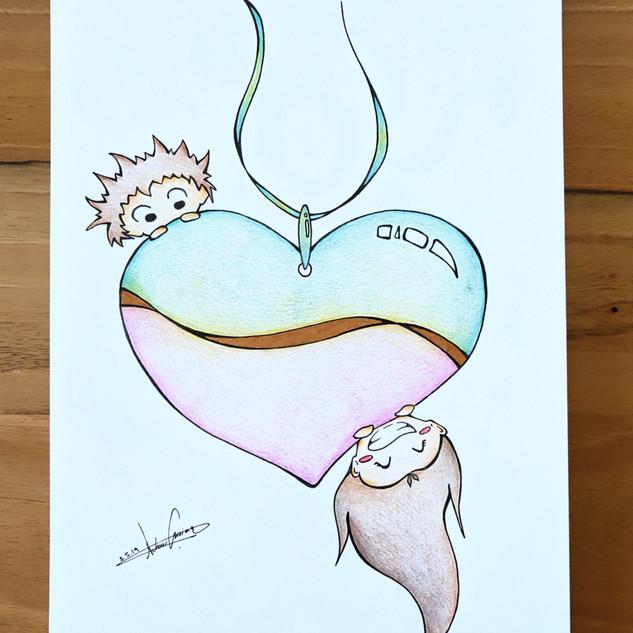 Chibi heart