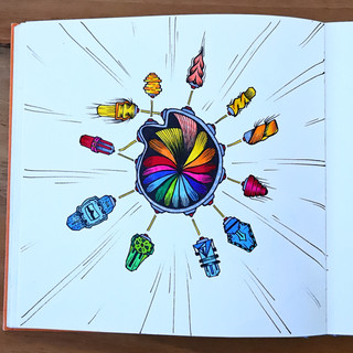 Colorflaschen