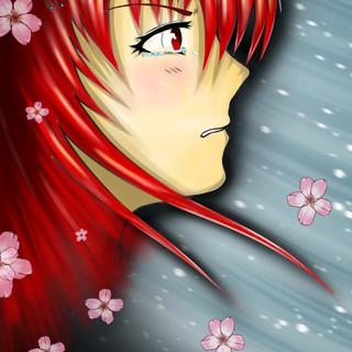 Akane-Das tiefe Rot