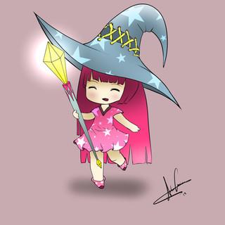 Chibi magic