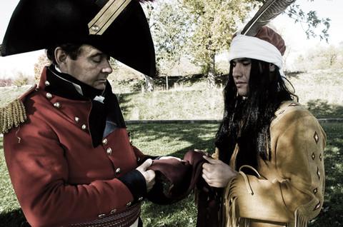 General Brock and Chief Tecumseh
