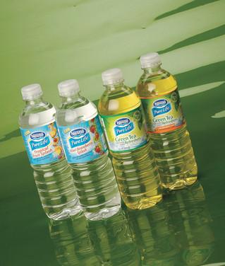 Nestle green tea water